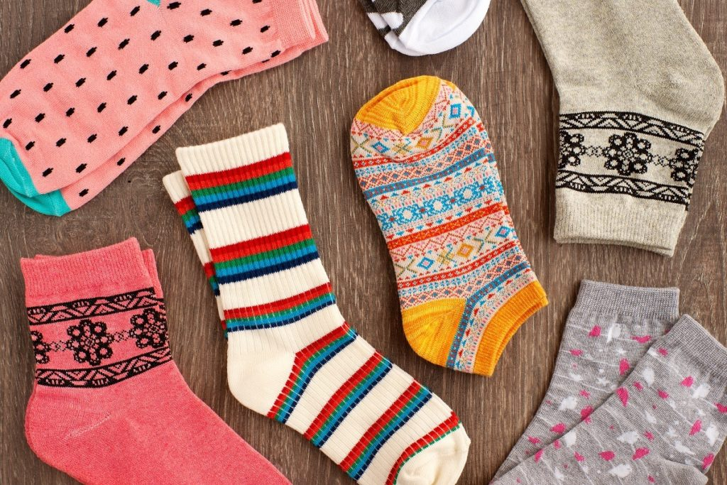 pairs of cute socks