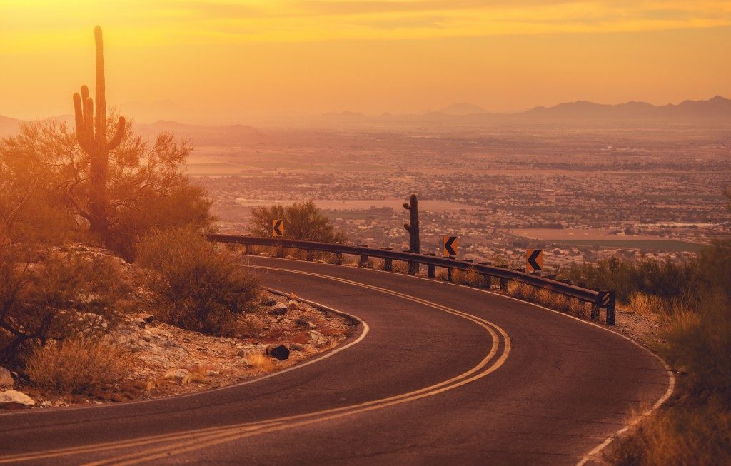 a desert in Phoenix